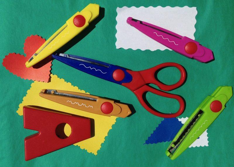 dekoracyjne nożyczki