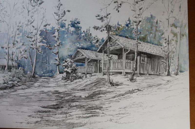 obraz domu